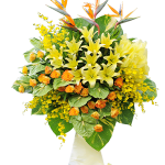 hoa tang khai truong cua hang dep